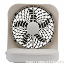 O2COOL 5-Inch Portable Fan, Gray 553813773
