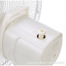 Optimus 12 Oscillating Table 3-Speed Fan, Model #F-1230A, White 552298842