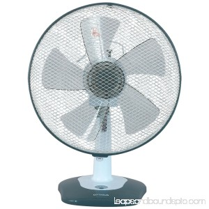 Optimus F-1212 12 Oscillating Table Fan with Soft Touch Switch 563194716