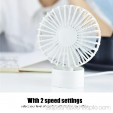 USB Mini Desk Desktop Personal Cooling Fan Quiet Operation for Home Office Dorm , Mini Fan, Desktop Fan