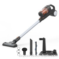 MLITER Vacuum Cleaner 2 in 1 Cordless Stick and Handheld Vacuum 22.2V Lithium-ion Rechargeable Battery, With HEPA Filtration, Crevice Tool & Brush Accessories