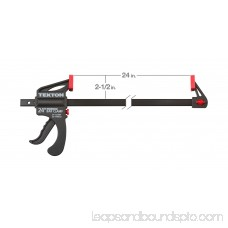 TEKTON 24-Inch x 2-1/2-Inch Ratchet Bar Clamp and 30-Inch Spreader | 39184 566028885