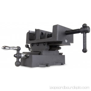 WEN 4.25-Inch Compound Cross Slide Industrial Strength Benchtop and Drill Press Vise 565886727