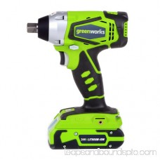 Greenworks 24V Cordless Lithium-Ion Impact Wrench 3800302 564030862