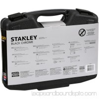 STANLEY 99-Piece Mechanics Tool Set, Black Chrome | 92-839   551637391