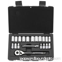 Stanley Consumer Tools 92-802 Mechanic Socket Set, 1/4-In. SAE, 20-Pc.