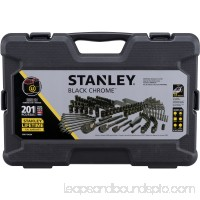 Stanley STMT75402W 201-Piece Black Chrome Universal Mechanic's Tool Set 565480494