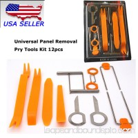 Universal Panel Removal Open Pry Tools Kit 12 pcs Car Dash Door Radio Trim Panel