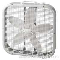 20 Gray Compact Box Fan 3 Speed Motor Convenient Carrying Handle Only One