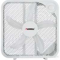 3-Speed Box Fan, White