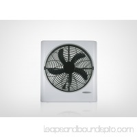 "Mainstays 10"" Box Fan, Black   563395498"