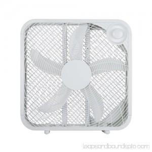 Midea International Trading FB50-16HW Box Fan, White, 20-In.