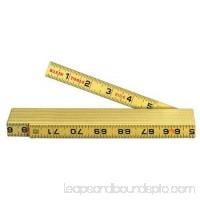Klein Tools 6 foot, Folding Rule, Inside Reading, 910-6