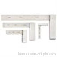 Starrett Precision Square Set, Stainless Steel, S3020Z