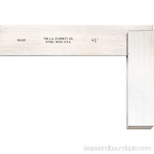 Starrett Precision Square, Stainless Steel, 3020-4