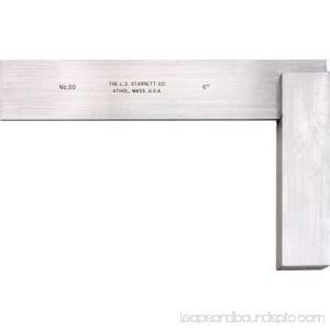 Starrett Precision Square, Stainless Steel, 3020-6