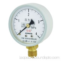 Air Water Blk Hand Accuracy 2.5 Pressure Gauge 4Mpa