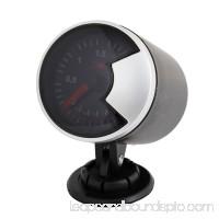 Unique Bargains Car Motor 60mm Turbo Indicator Boost Vacuum LED Gauge Meter Smoke Color Lens