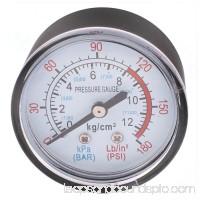 Unique Bargains Round Shaped Dial Compressor Air Pressure Gauge 0-170 PSI 12Bar