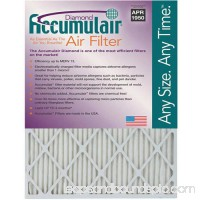 "Accumulair Diamond 1"" Air Filter, 4-Pack   553956741"