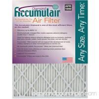 """Accumulair Diamond 1"""" Air Filter, 4-Pack   553957234"""