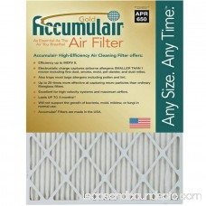 Accumulair Gold 1 Air Filter, 4-Pack 553951500