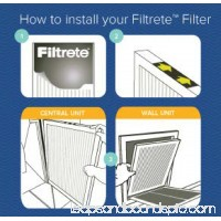 Filtrete Allergen Defense Micro Particle Reduction HVAC Furnace Air Filter, 800 MPR, 24 x 24 x 1 inch, Pack of 2 Filters   552153045