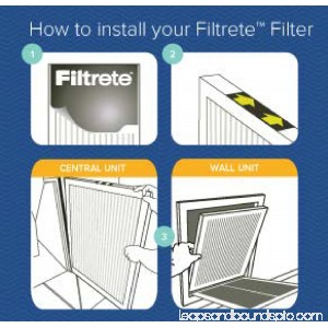 Filtrete Elite Allergen Reduction HVAC Furnace Air Filter, 2200 MPR, 14 x 25 x 1, 1 Filter 553164781