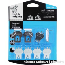 High And Mighty Picture Hanger Tool Free Value Pack 20lb - 40lb 8 Pieces 562739203