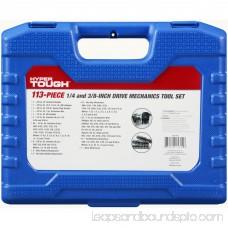 Hyper Tough 113 Piece 1/4-Inch and 3/8-Inch Mechanics Tool Set 564279961
