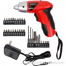 Stalwart 25-piece 4.8-Volt Cordless Screwdriver with LED Light 552090114