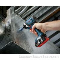 "Bosch CLPK26-181 Compact 1/2"" Drill/Driver & 1/4"" Hex Impact Driver 18-Volt Cordless Combo Kit   567083177"