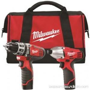 Milwaukee M12 Cordless Lithium-Ion 2-Tool Combo Kit 562901311