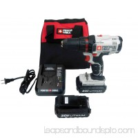 PORTER-CABLE PCC601LB 20-Volt Max 1/2 in. Lithium Ion Cordless Driver Drill with 2 Batteries   558159349