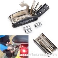 Felji Portable Bike Cycling Repair Tool Set Kit 16 in 1 Multi-function Steel