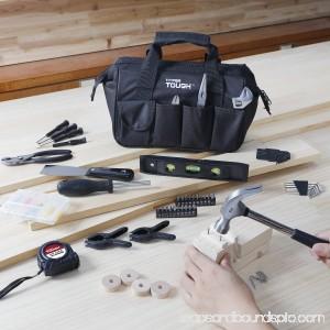 Hyper Tough 53-Piece Home Repair Tool Set, Black 555732314