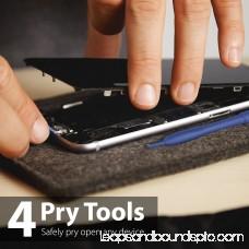 iPhone Tool Kit, Fosmon 16 Pieces Tool Repair Kit [ 5-Point Pentalobe Screwdriver ] Opening Screen Tools for Apple iPhone X/8 Plus/8/7 Plus/7/6S Plus/6S/6 Plus/6/SE/5S/5c/5/4