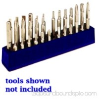 1/4 in. Magnetic Neon Blue 37 Piece Bit Holder   570153600