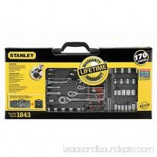 STANLEY 170-Piece Mechanics Tool Set, Chrome | 96-011 551637516