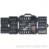 STANLEY 170-Piece Mechanics Tool Set, Chrome | 96-011   551637516