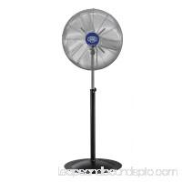 "24"" Diameter Deluxe Oscillating Pedestal Fan 1/2HP, Lot of 1"
