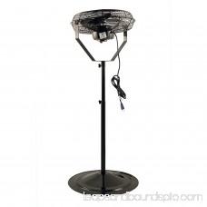 Air King 18 1/6 HP 3-Speed Non-Oscillating Adjustable Pivoting Pedestal Fan