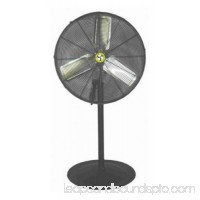AIRMASTER FAN COMPANY 30 PEDESTAL MOUNT LIGHT COMMERCIAL FAN