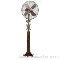 DecoBreeze DBF7305 Aspen 16 Inch Blade Span 55 Inch Tall 3 Speed Pedestal Fan