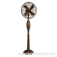DecoBREEZE Pedestal Fan Adjustable Height 3-Speed Oscillating Fan, 16-Inch, Bentley   566241541