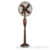 DecoBREEZE Pedestal Fan Adjustable Height 3-Speed Oscillating Fan, 16-Inch, Coronado 566232864