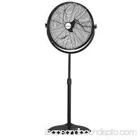 Homebasix FES50-T5 High Velocity Pedestal Fan Stand, 140 W, 120 VAC, Grounded, 3 Speeds
