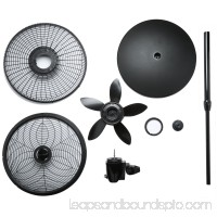 Lasko 18 Elegance & Performance Pedestal 3-Speed Fan, Model #1827, Black 564024212