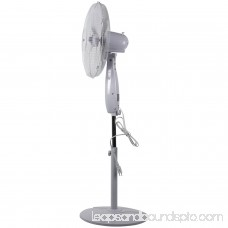 Optimus F-1672WH 16 Oscillating Stand Fan with Remote (White) 552451309