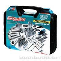 """132 Pc. Mechanic's Tool Set, Chrome Vanadium, 3/16""""-3/4"""", 4mm-19mm, Metric/SAE   551591100"""